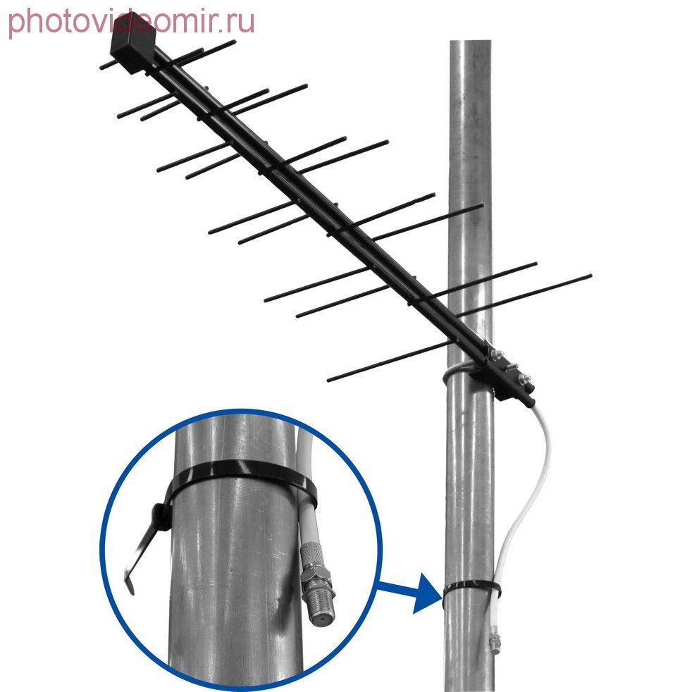 Широкополосная дмв антенна для цифрового телевидения
