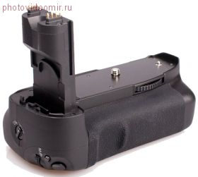 Многофункциональная аккумуляторная рукоятка Phottix BG-7D для Canon EOS 7D (Батарейный блок Canon BG-E7) + пульт ДУ