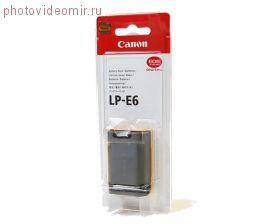 Аккумулятор LP-E6 Canon